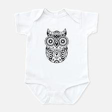 Sugar Skull Owl Infant Bodysuit