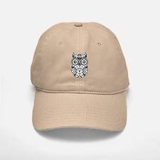 Sugar Skull Owl Baseball Baseball Cap