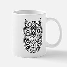 Sugar Skull Owl Coffee Mug