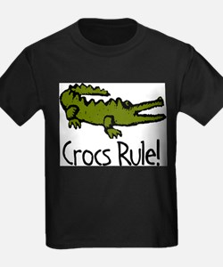 Crocs Rule! Ash Grey T-Shirt
