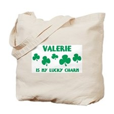Valerie is my lucky charm Tote Bag