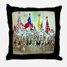 Santa Rosa Palomino Club of Vernon Te Throw Pillow