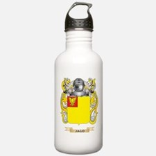Jago Coat of Arms (Family Crest) Water Bottle