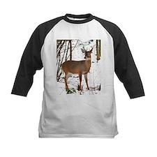 Whitetail Deer In Winter Tee