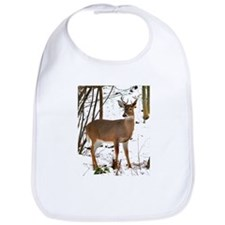 Whitetail Deer In Winter Bib