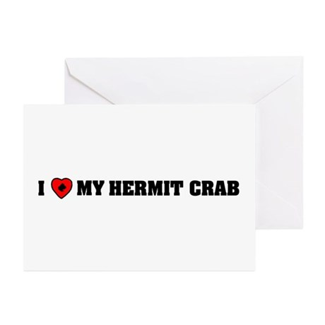 I love my Hermit Crab Greeting Cards (Pk of 10