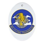 85th Flying Training SQ Oval Ornament