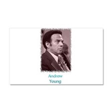 Andrew Young w text Car Magnet 20 x 12