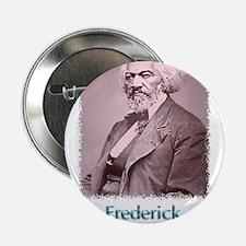 "Frederick Douglass w text 2.25"" Button (10 pack)"