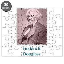 Frederick Douglass w text Puzzle