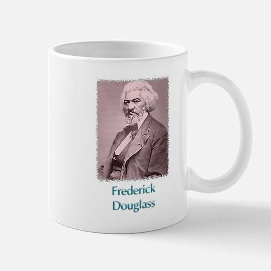 Frederick Douglass w text Mug