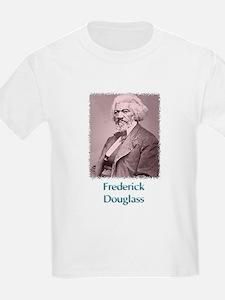 Frederick Douglass w text T-Shirt