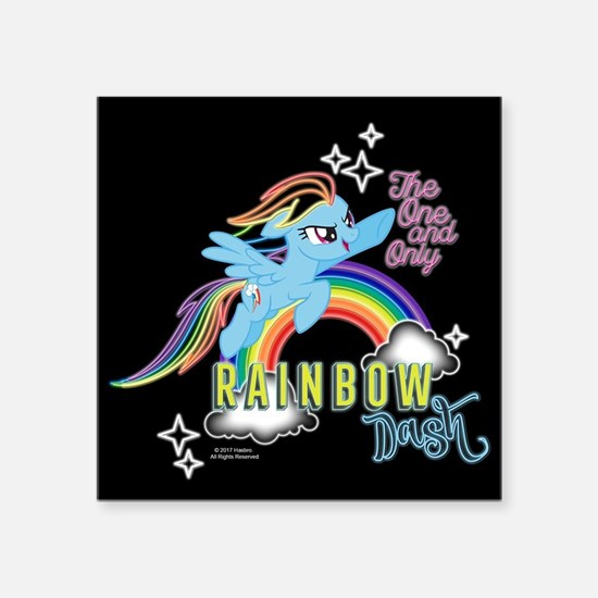MLP One And Only Rainbow Dash Sticker
