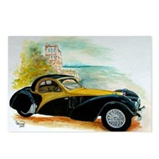 1937  Type 57S Atalante C Postcards (Package of 8)