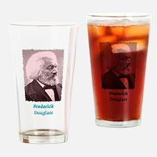 Frederick Douglass 2 w text Drinking Glass