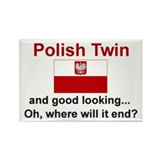 Polish Twin-GdLkg Rectangle Magnet