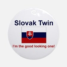 Good Looking Slovak Twin Keepsake Ornament