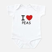 I love peas Infant Bodysuit