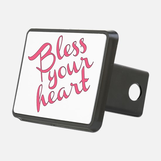 Bless your heart (in pink) Hitch Cover