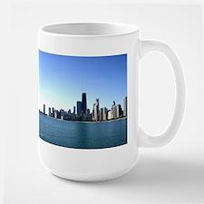 Chicago Skyline Across from Lake Michigan Mug