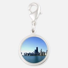 Chicago Skyline Across from Lake Michigan Charms