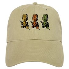 Three Tiki Gods Baseball Cap