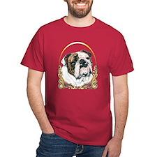 Bulldog Christmas/Holiday T-Shirt
