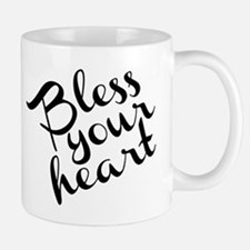 Bless Your Heart (in black) Mug