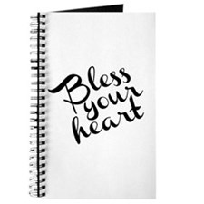 Bless Your Heart (in black) Journal