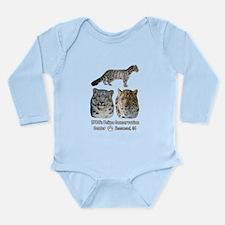 Leopards! Long Sleeve Infant Bodysuit