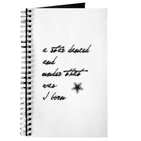 A star danced... and was I bo Journal