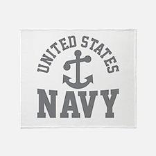 U.S. NAVY- Throw Blanket