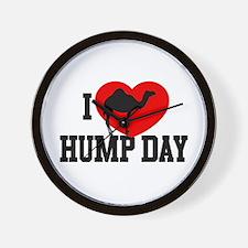 I Heart Hump Day Wall Clock