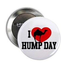 """I Heart Hump Day 2.25"""" Button (100 pack)"""