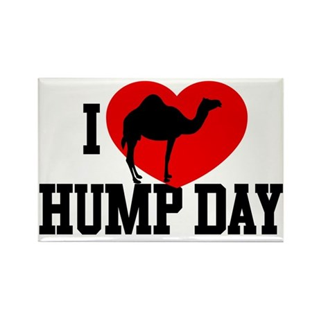 I Heart Hump Day Rectangle Magnet (100 pack)