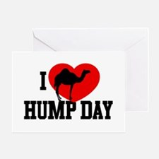 I Heart Hump Day Greeting Card