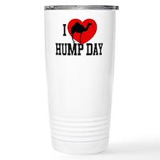 I Heart Hump Day Travel Coffee Mug