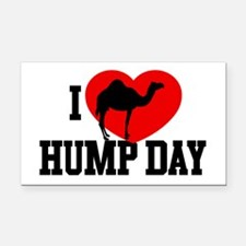 I Heart Hump Day Rectangle Car Magnet