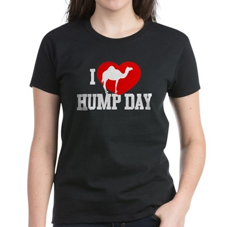 I Heart Hump Day Women's Dark T-Shirt
