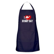 I Heart Hump Day Dark Apron