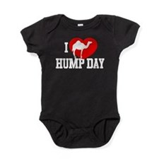 I Heart Hump Day Baby Bodysuit