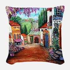 Tuscany Woven Throw Pillow