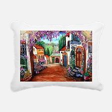 Tuscany Rectangular Canvas Pillow