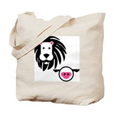 Lion and Lamb Tote Bag