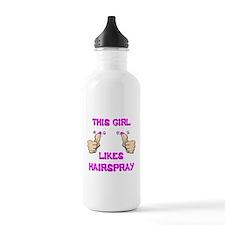 This Girl Likes Hairspray Water Bottle