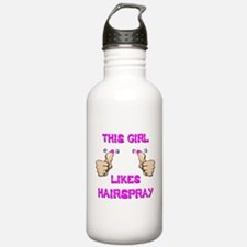 This Girl Likes Hairspray Water Bottle
