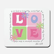 John 3:16 Mousepad