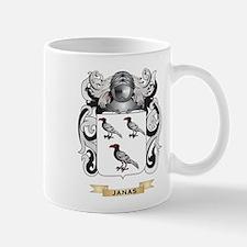 Janas Coat of Arms (Family Crest) Mug