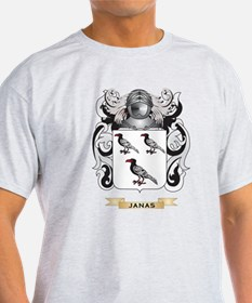 Janas Coat of Arms (Family Crest) T-Shirt