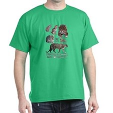 North American Cats T-Shirt